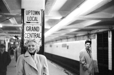 (BWC 29) Marilyn in Grand Central Station