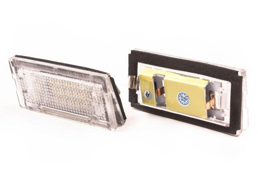 LAMPKA TABLICY LED BMW 3 E46 SEDAN KOMBI 2 szt P-ń