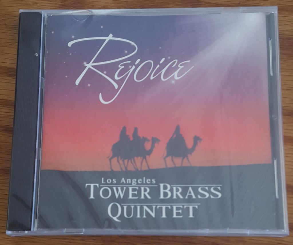 Tower Brass Quintet - Rejoice CD Christmas Brass Quintet Music