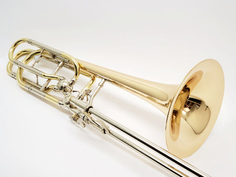 Kuhnl & Hoyer Orchestra Signature Bass Trombone with Stacked Rotors