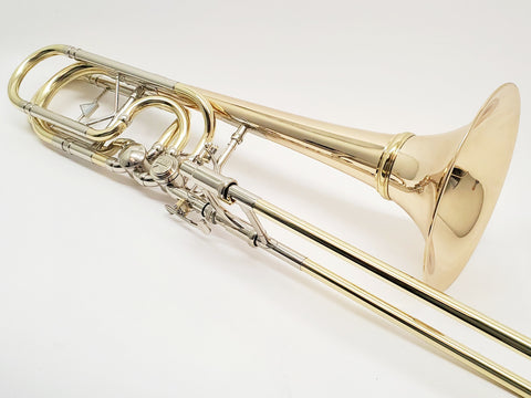 Kuhnl & Hoyer Orchestra Signature Bass Trombone with Inline Rotors