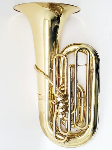 Meinl Weston Warren Deck 2155 5V Piston CC Tuba, Used