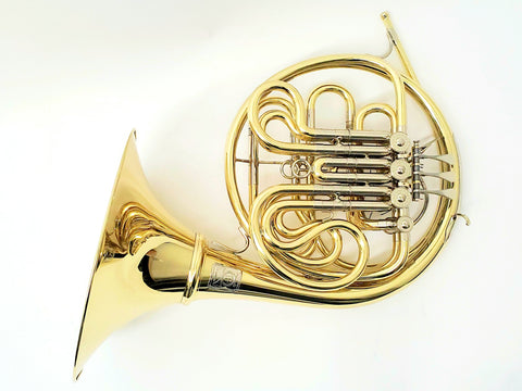Paxman 27M Double Horn w/ Atkinson Leadpipe
