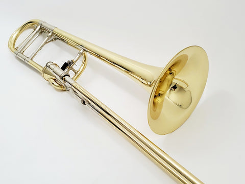S.E. Shires Q-Series TBQ30YA Axial Rotor Tenor Trombone, Used