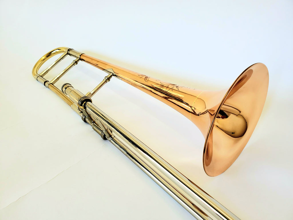 S.E. Shires Custom Medium Bore Tenor Trombone