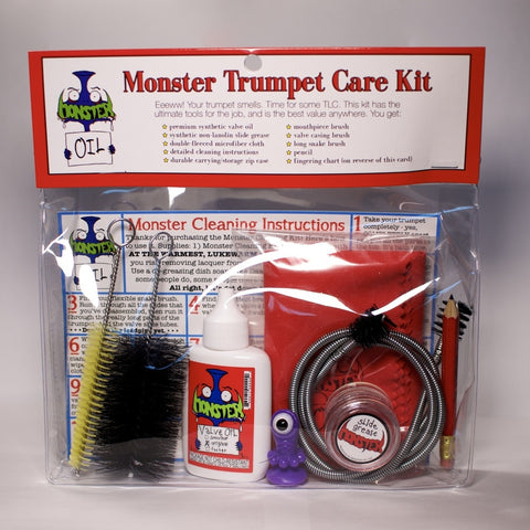 Monster Trumpet Care Kit