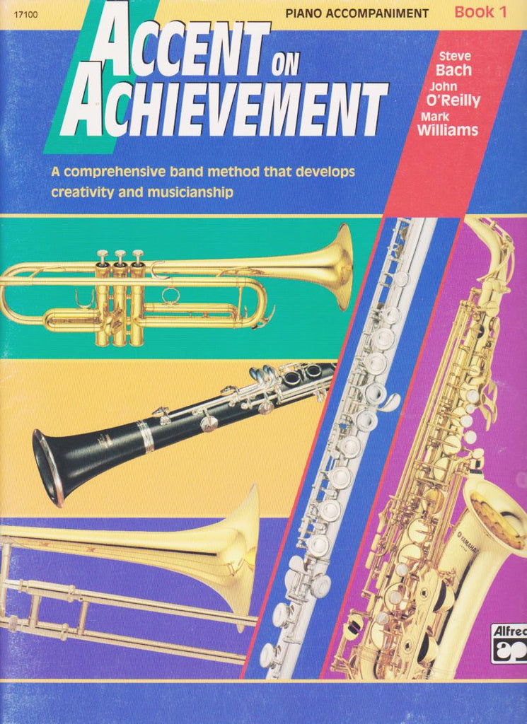 Accent on Achievement Piano Accompaniment, pub. Alfred Book 1