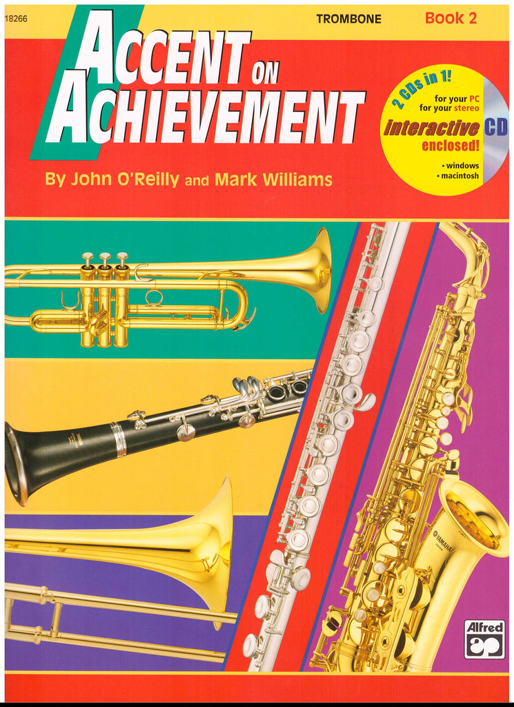 Accent on Achievement Trombone, pub. Alfred