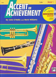 Accent on Achievement Tuba, pub. Alfred