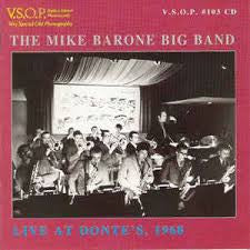 Live at Donte's, 1968 - The Mike Barone Big Band, V.S.O.P.