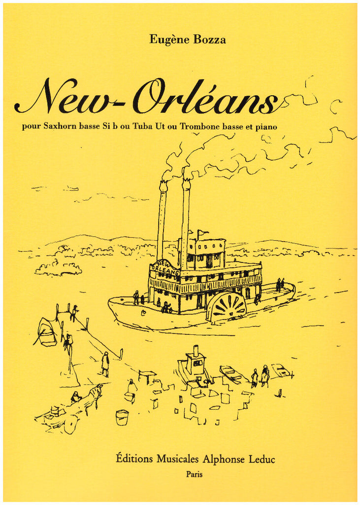 New Orleans for Bass Trombone and Piano by Eugene Bozza, pub. Leduc