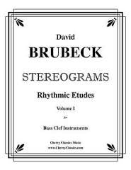 Stereograms for Bass Trombone by David Brubeck, pub. Bones Apart