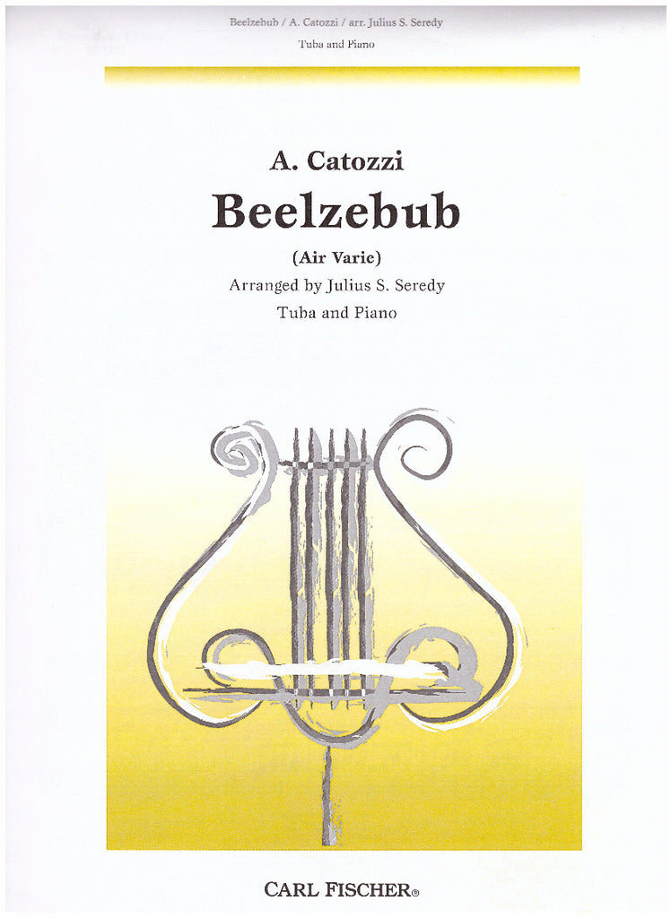 Beelzebub (for Tuba and Piano) by Andrea Catozzi, pub. Carl Fischer