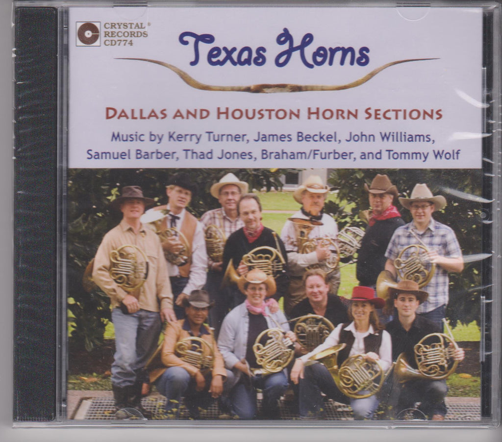 Texas Horns - Dallas & Houston Horn Sections, Crystal Records