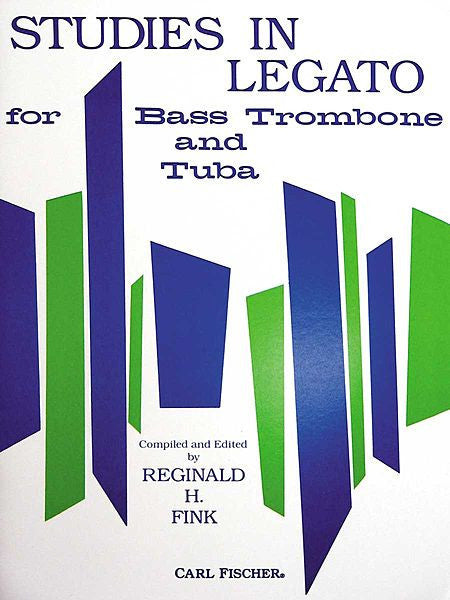 Studies in Legato for Tuba or Bass Trombone by Reginald Fink,  pub. Carl Fischer