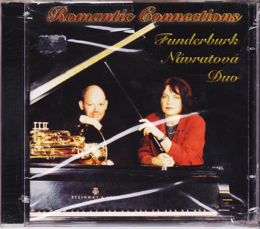 Romantic Connections - Jeff Funderburk & Iva Navratova, Mark Records