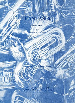 Fantasia Tuba Duet by James Garrett, pub. Bim