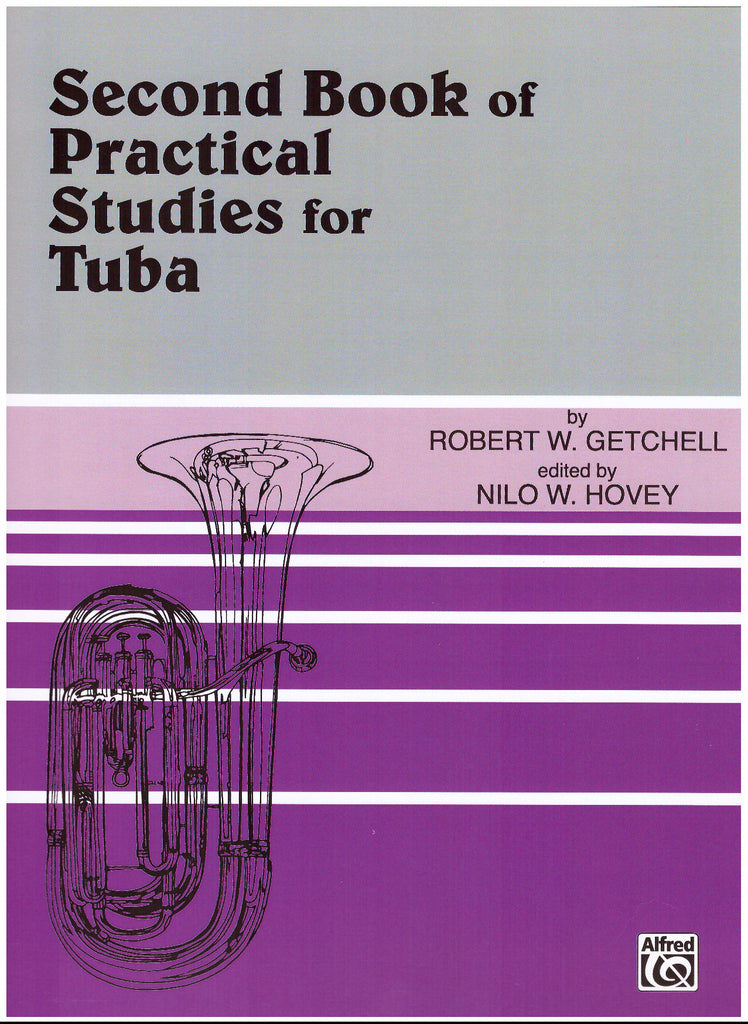 Practical Studies for Tuba, Book 2 by Robert W. Getchell, pub. Alfred