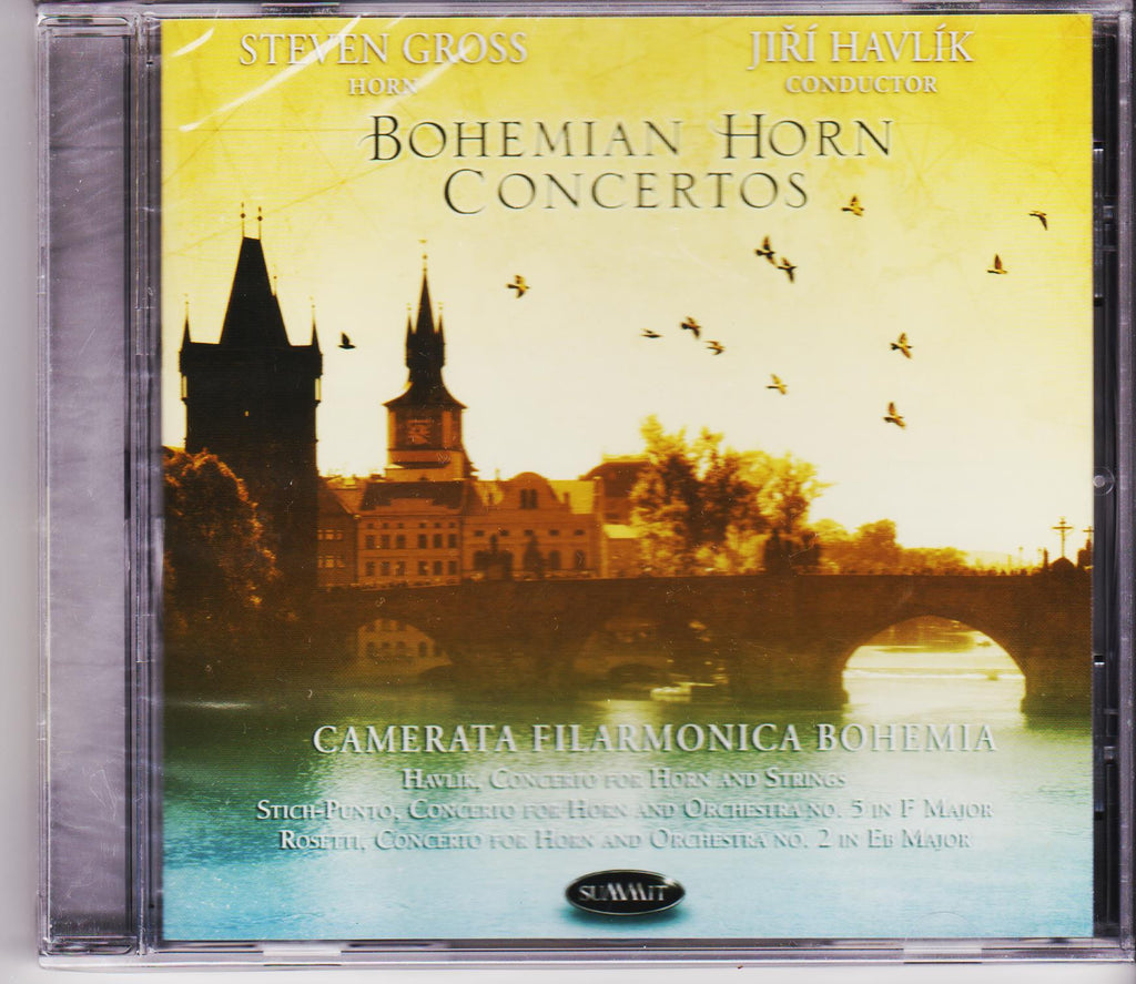 Bohemian Horn Concertos - Steven Gross, Summit Records
