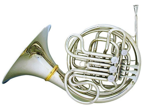 Hans Hoyer Heritage 6802NSA-L Nickel Double Horn
