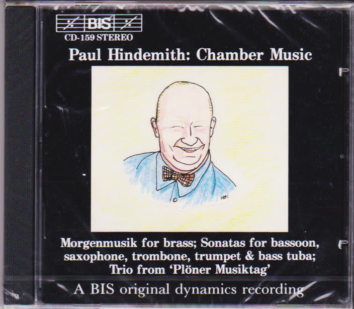 Paul Hindemith: Chamber Music - Christian Lindberg and Michael Lind, BIS