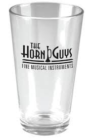 Horn Guys Pint Glass