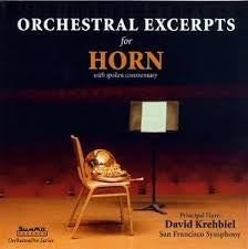 Excerpts for French Horn - David Krehbiel Orchestra, Summit Records