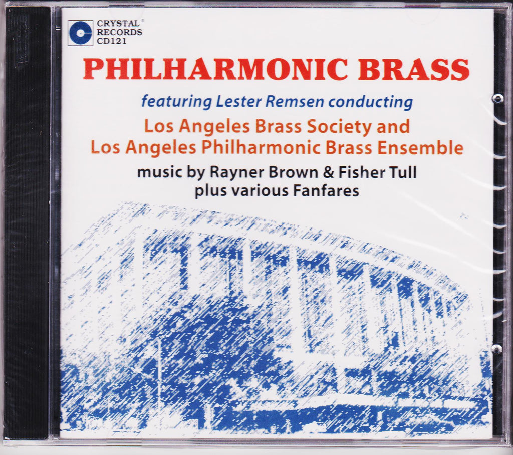 Philharmonic Brass - Los Angeles Brass Society & Los Angeles Philharmonic Brass Ensemble, Crystal Records