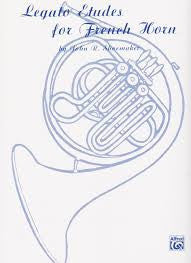 Legato Etudes for French Horn by John R. Shoemaker, pub. Alfred