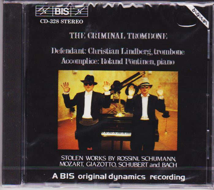 The Criminal Trombone - Christian Lindberg, BIS