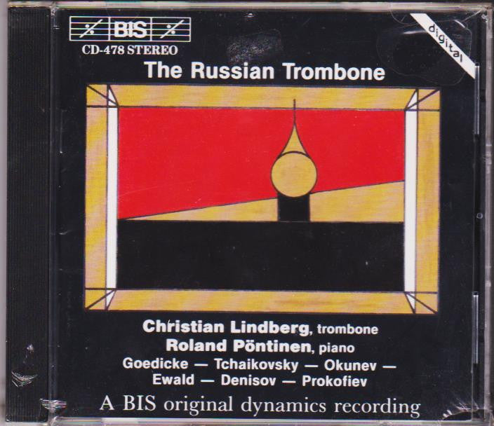 The Russian Trombone - Christian Lindberg, BIS
