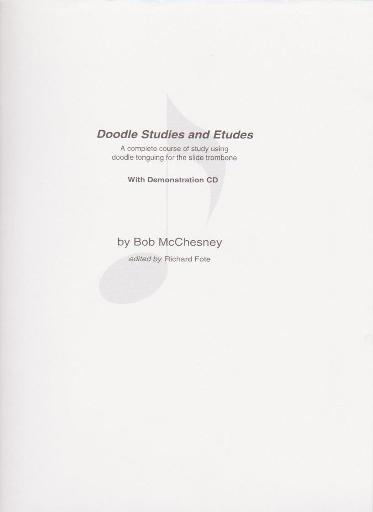 Doodle Studies and Etudes by Bob McChesney, ed. Richard Fote