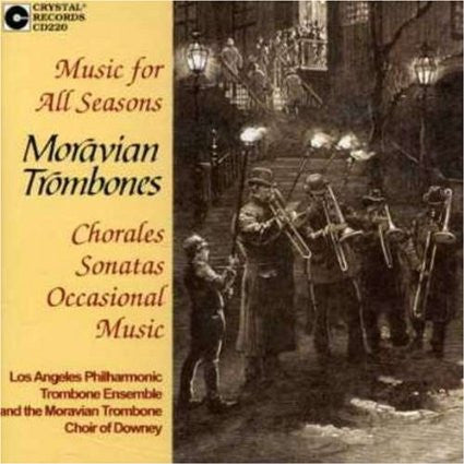 Music for All Seasons - Moravian Trombones, Crystal Records