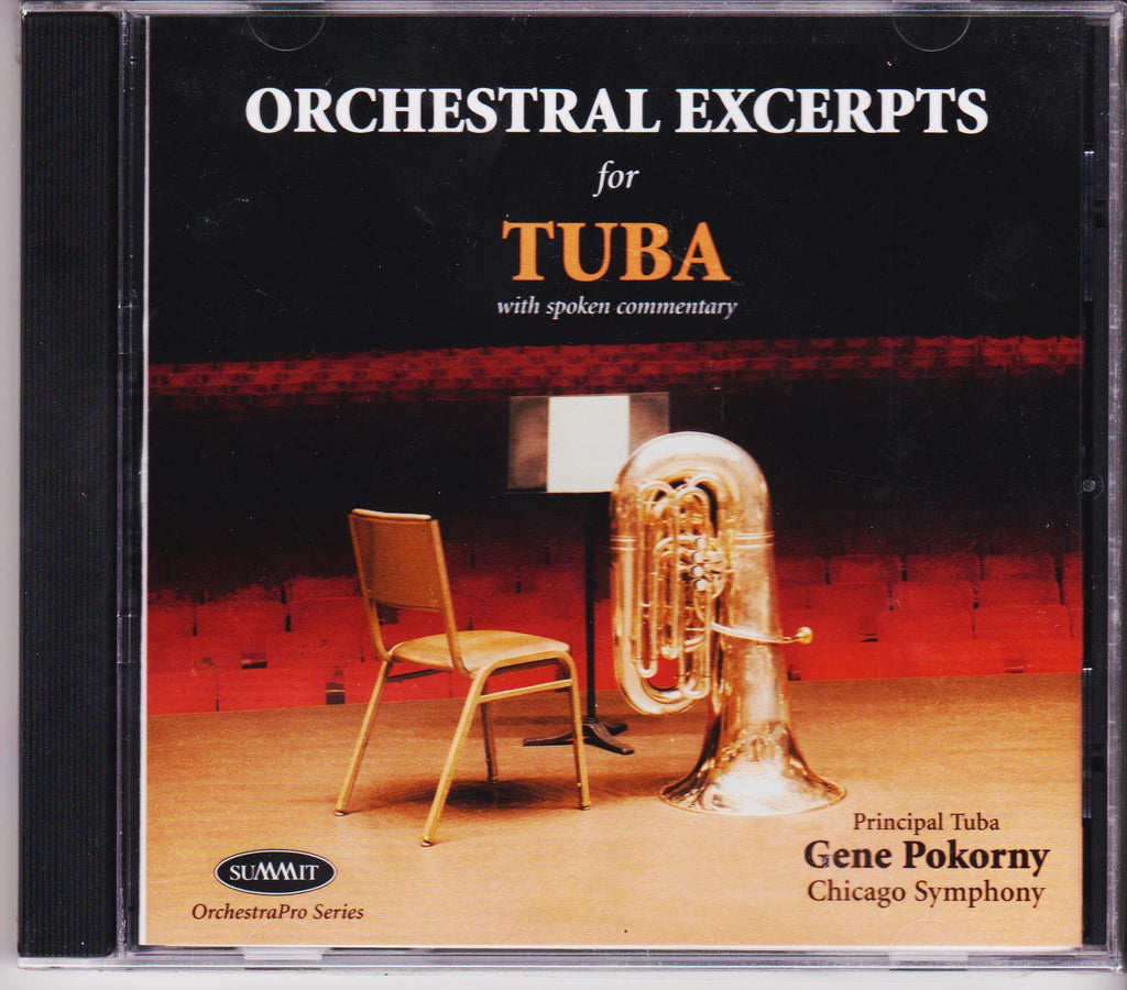 Orchestra Excerpts for Tuba - Gene Pokorny, Summit Records