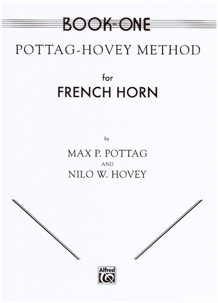 French Horn Method by Pottag & Hovey, pub. Alfred