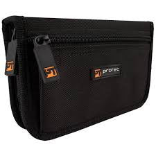 Protec A221ZIP 4-Piece Trumpet Mouthpiece Pouch with Zipper Closure