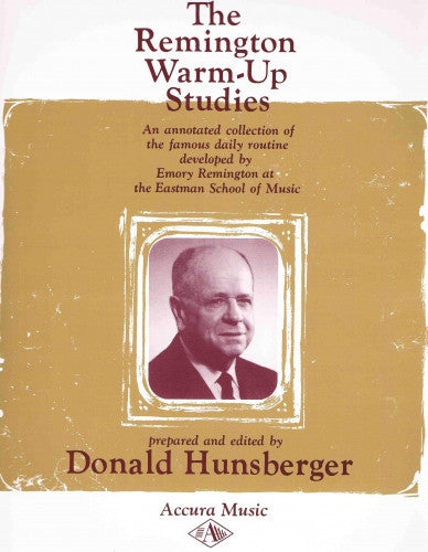 Warm-Up Studies by Emory Remington, ed. D. Hunsberger, pub. Accura