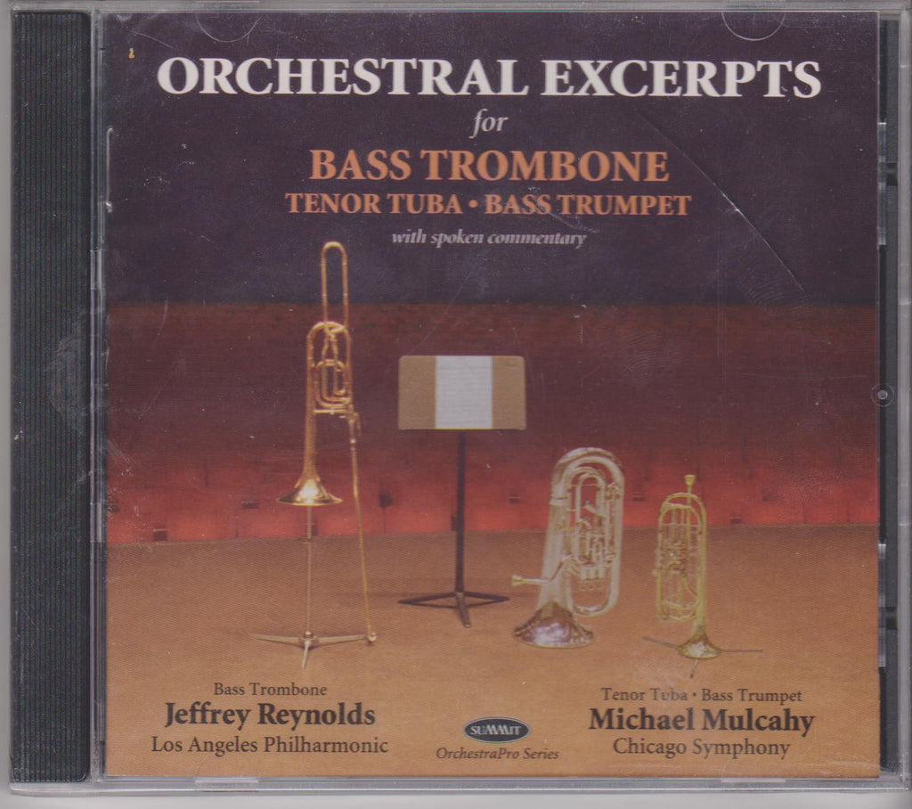 Orchestral Excerpts for Bass Trombone, Jeff Reynolds, Summit