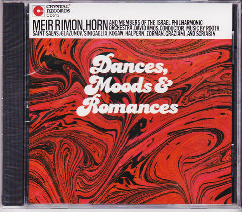 Dances, Moods, Romance - Meir Rimon, Crystal Records