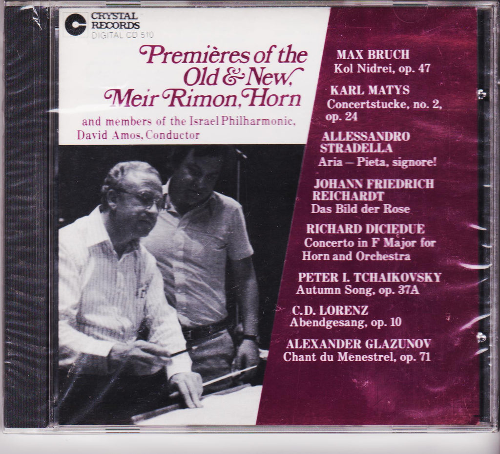 Premieres of the Old & New - Meir Rimon, Crystal Records