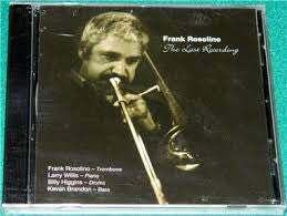 The Last Recording - Frank Rosolino, Seabreeze Records