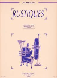 Rustiques for Trumpet and Piano by Eugene Bozza, pub. Leduc Hal Leornard