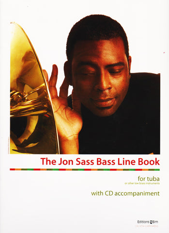 The Jon Sass Bass Line Book by Jon Sass, pub. Bim