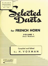 Selected Duets for French Horn Book 1 by H. Voxman, pub. Hal-Leonard