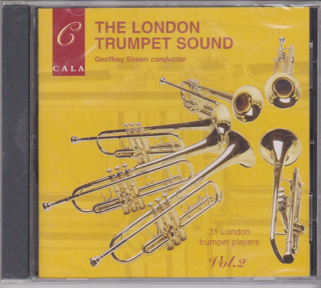 London Trumpet Sound Vol. 2 - Geoffrey Simon, Cala Records