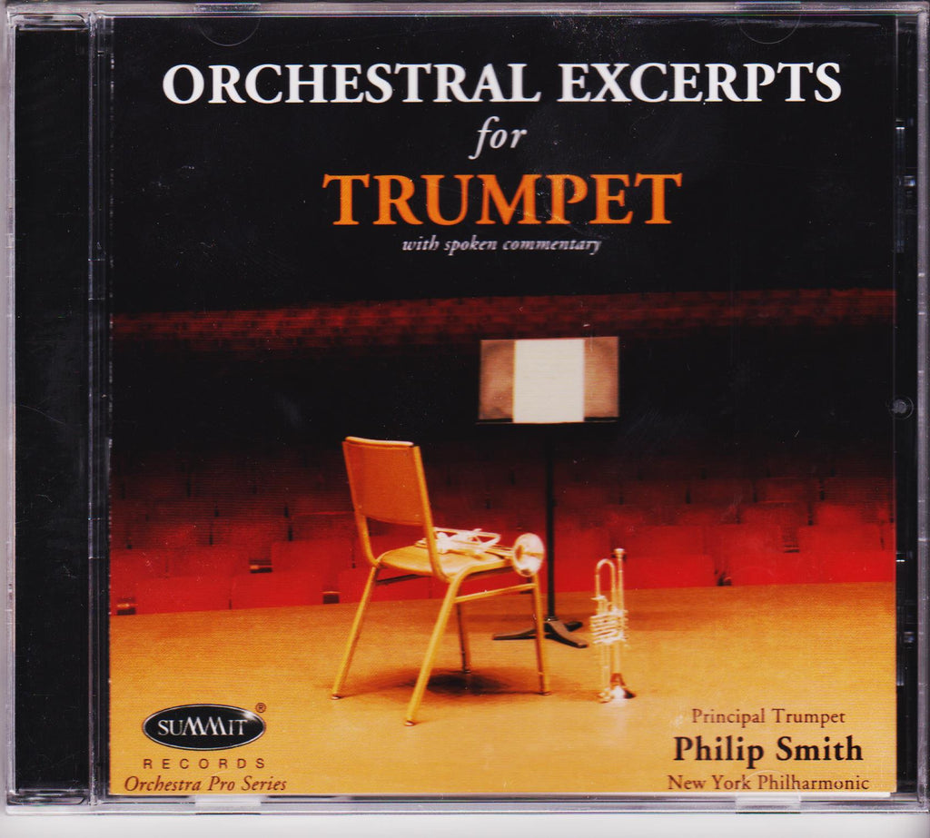 Orchestral Excerpts for Trumpet - Philip Smith, Summit Records