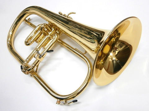 Stauffer Brass by Kanstul Flugelhorn
