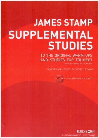 James Stamp Supplemental Studies by Tom Stevens, pub. Bim
