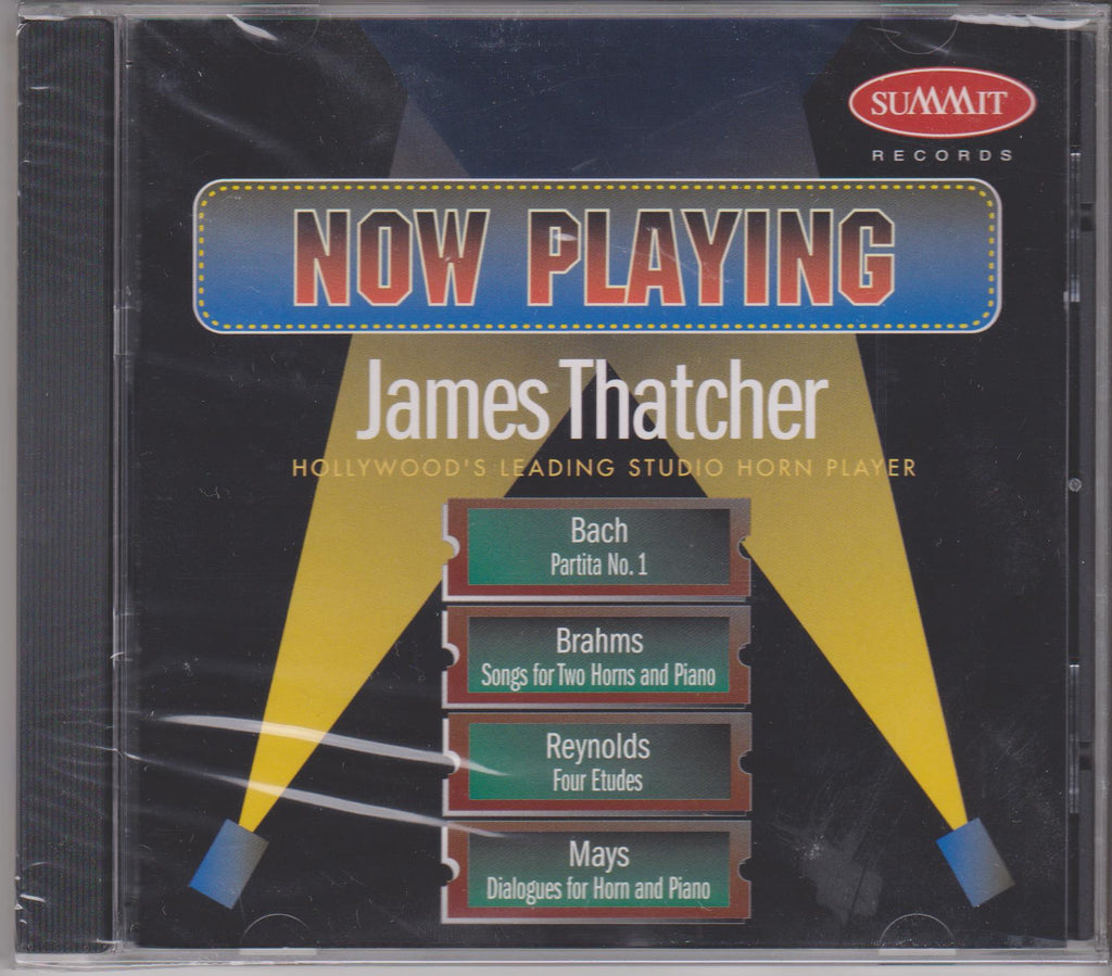Now Playing - James Thatcher, Summit Records