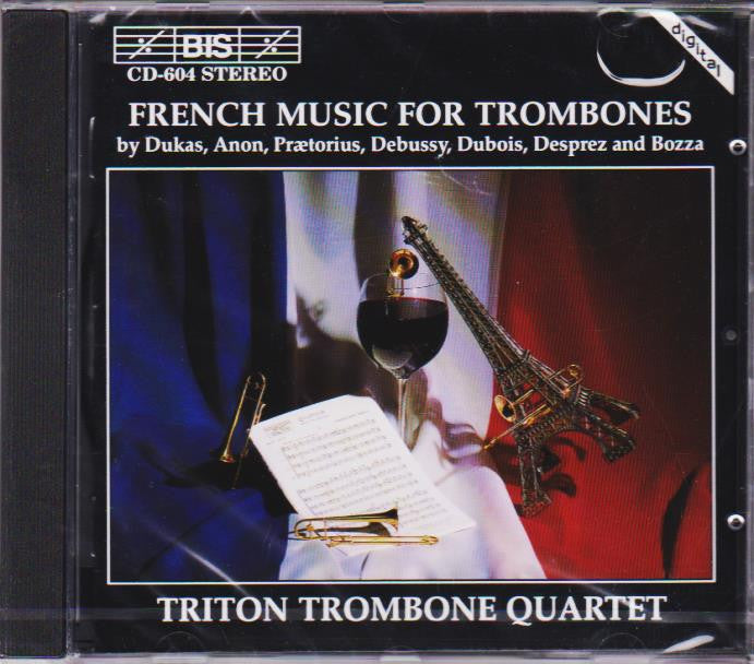 French Music for Trombones - Triton Trombone Quartet, BIS
